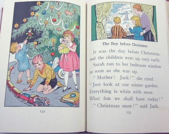 Playmates Vintage 1930s Children's School Reader or Textbook by The American Book Co.