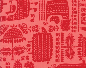 Farm Fun Strawberry Barnyard Buddies Yardage SKU# 20532-21 Farm Fun by Stacy Iest Hsu for Moda Fabrics