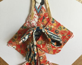 washi ningyou(japanese paper doll) oiran (japanese courtesan)