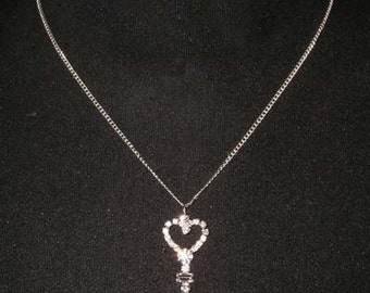 Style # 15473 - Key to My Heart Necklace