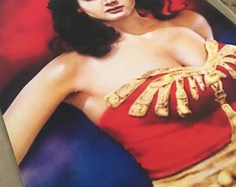 Print 11x14 Lynda Carter Wonder Woman