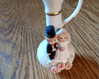 wedding day small bud vase