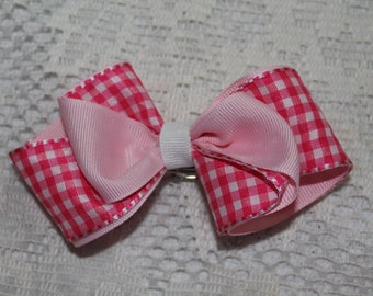 "3"" Two-Toned Hair Bow"