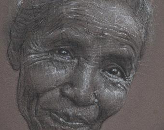 Limited Edition Print, 'Portrait #17'