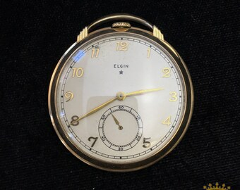 Elgin OF Pocket Watch size 8 c.1938