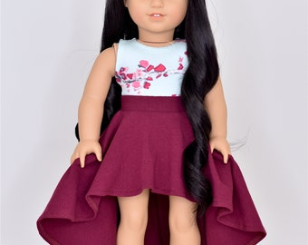 Cropped top 18 inch doll clothes