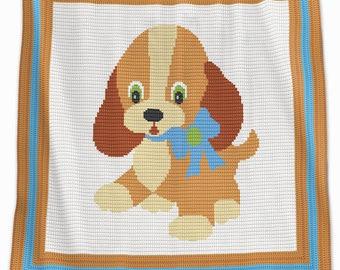Crochet Blanket Pattern - Crochet Baby Blanket Pattern - Dog Blanket Pattern - Baby Afghans - Crochet Patterns - Puppy Patterns - Ginger