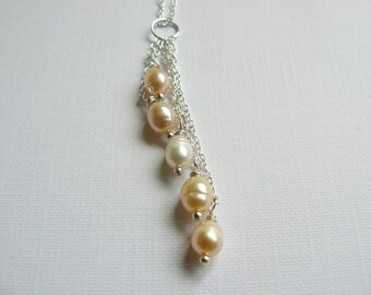 Freshwarer Pearl Cascade necklace