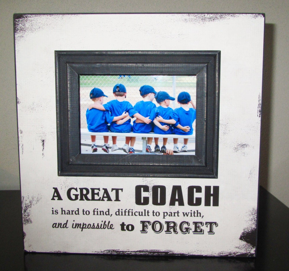 Coach Gift Coach Frame Sports Team Frame Picture Frame A great