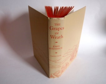 Vintage Grapes of Wrath 1967 Hardcover