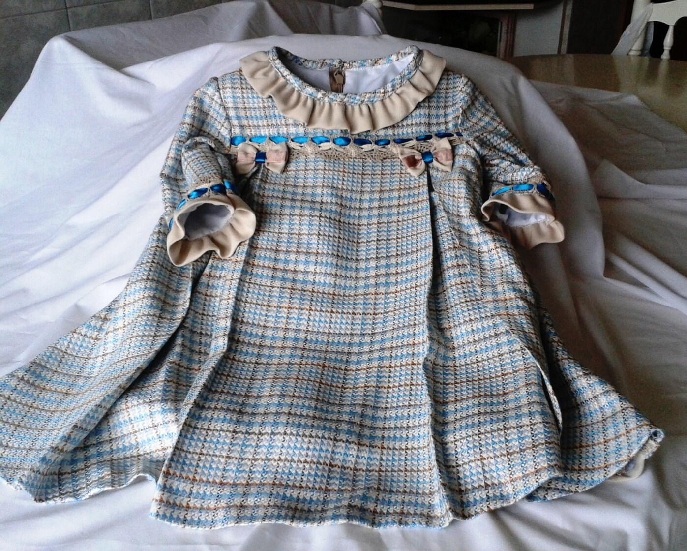 vestido de niña cuadros vestido bebe cuadros vestido bebe