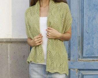 Knit Shawl,Knitted shawl,alpaca shawl,silk shawl,wedding shawl,made to order