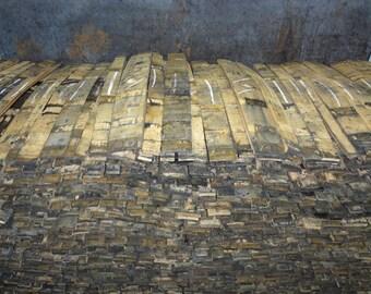 "1""- 1 1/2"" Authentic Jack Daniels Bourbon Whiskey Barrel Stave"