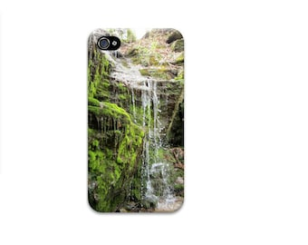 Waterfall iphone 6 case, mens iphone 7 case, wood iphone 7 case, enchanted forest, green iphone 5 case, rivendell, nature iphone 6 case