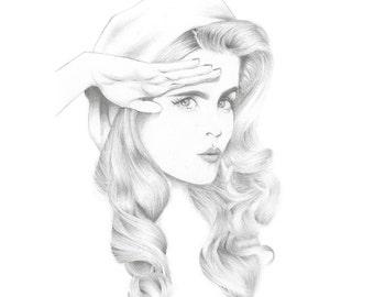 Salute - Signed 8x10 Art Print