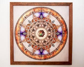 Mandala Art - Imperfect Reflection