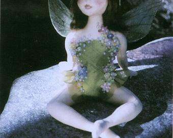 Dawn, Fairy Cloth Doll Pattern - Doll Making E-Pattern - PDF