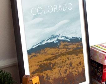 Colorado Rockies Poster 11x17 18x24 24x36