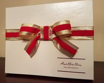 Boutique Box With Ribbon