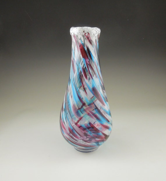 Glass Vase Venetian Glass Glassblowing Glass Blown