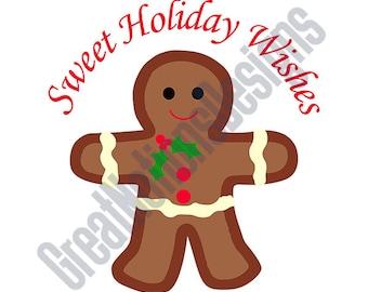 Sweet Holiday SVG - HTV - Vinyl Cutting Graphic Art