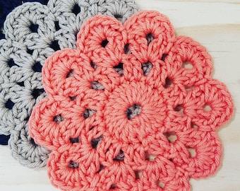Crochet Pattern | Doily Coasters by Crochet Birdie