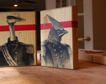 The Board of Directors - Wood Art - Birds