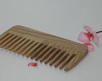 Wooden comb  Beard comb For men For him  Moustache comb Hair comb