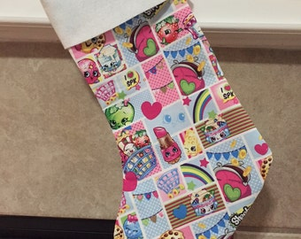 Shopkins Patch Party Holiday Stocking
