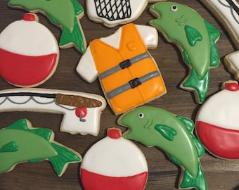Fishing Cookies (1 dozen)