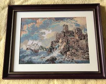 Shipwreck at the cliffs