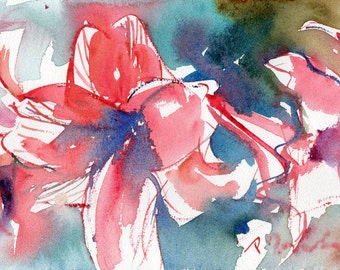 Fresh Pick No.50, limited edition of 50 fine art giclee prints from my original watercolor