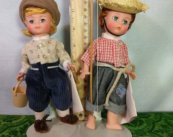 Tom Sawyer and Huckleberry Finn by Madame Alexander