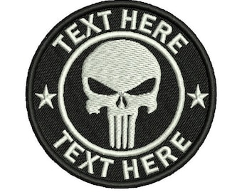 """Embroidered Custom Patches 3"""" x 3"""""""