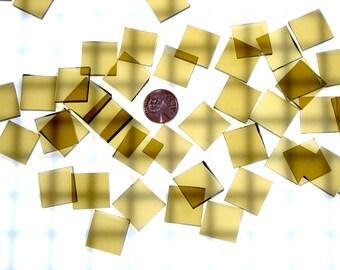 Bronze Waterglass Tiles