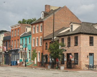 Baltimore, MD - Fells Point - Thames and S. Ann, Photo print or Canvas