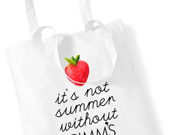 It's Not Summer Without Pimm's Tote Bag Shopping