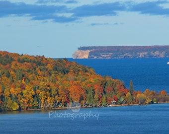 Grand Island in the Fall