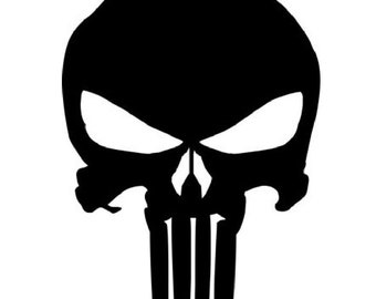 PUNISHER  inspired macbook trackpad decal