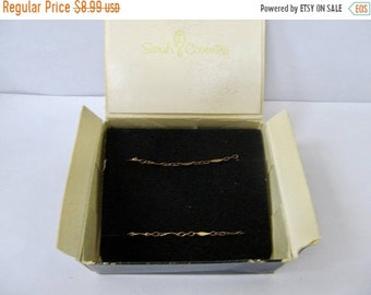 On Sale SARAH COVENTRY Vintage Link Bracelet Item K # 1572