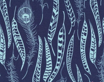 Anna Maria Horner Field Study-Fine Feathered Denim