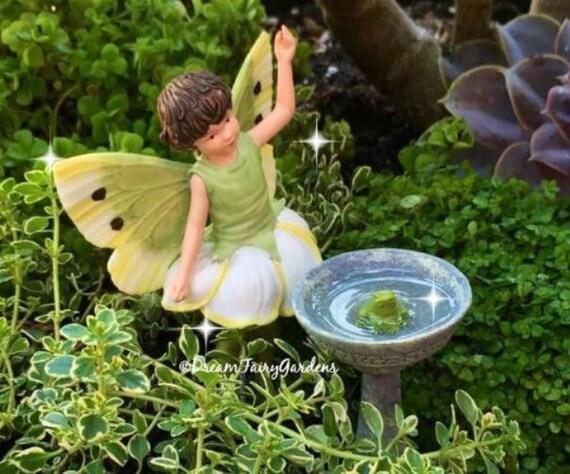 Fairy Garden Bird Bath, Miniature Garden Birdbath, Miniature Birdbath,  Miniature Frog, Fairy Garden Accessories, Fairy Garden Supplies From ...