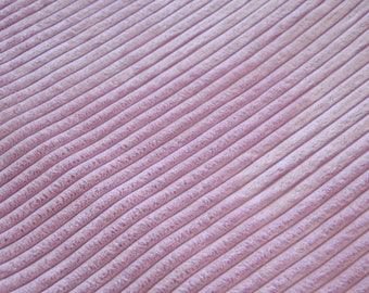 Fabric velvet thick ribs LILAC/purple