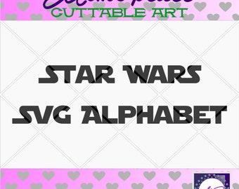 70% 0FF SALE star wars svg, star wars svg files for cricut, svg Alphabet , star wars art, svg font, files for cricut