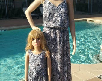 35 - Mother daughter dresses / Mommy and Me Dresses | Matching Mother Daughter Dresses| Mother Daughter Matching / mommy&me