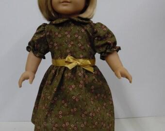 American Girl 1950's School Dress and Headband