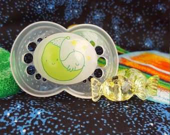 Glow In The Dark (Modified Adult) Pacifier