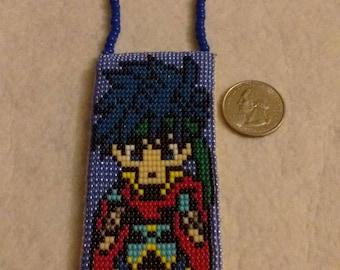 Ike - Fire Emblem Native American Loom Necklace