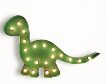 Dinosaur Marquee Light Brantasaurus