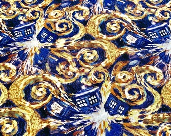 Doctor Who Starry Night Tardis